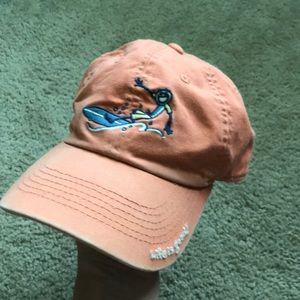 Life is Good washed orange surfer toddler hat